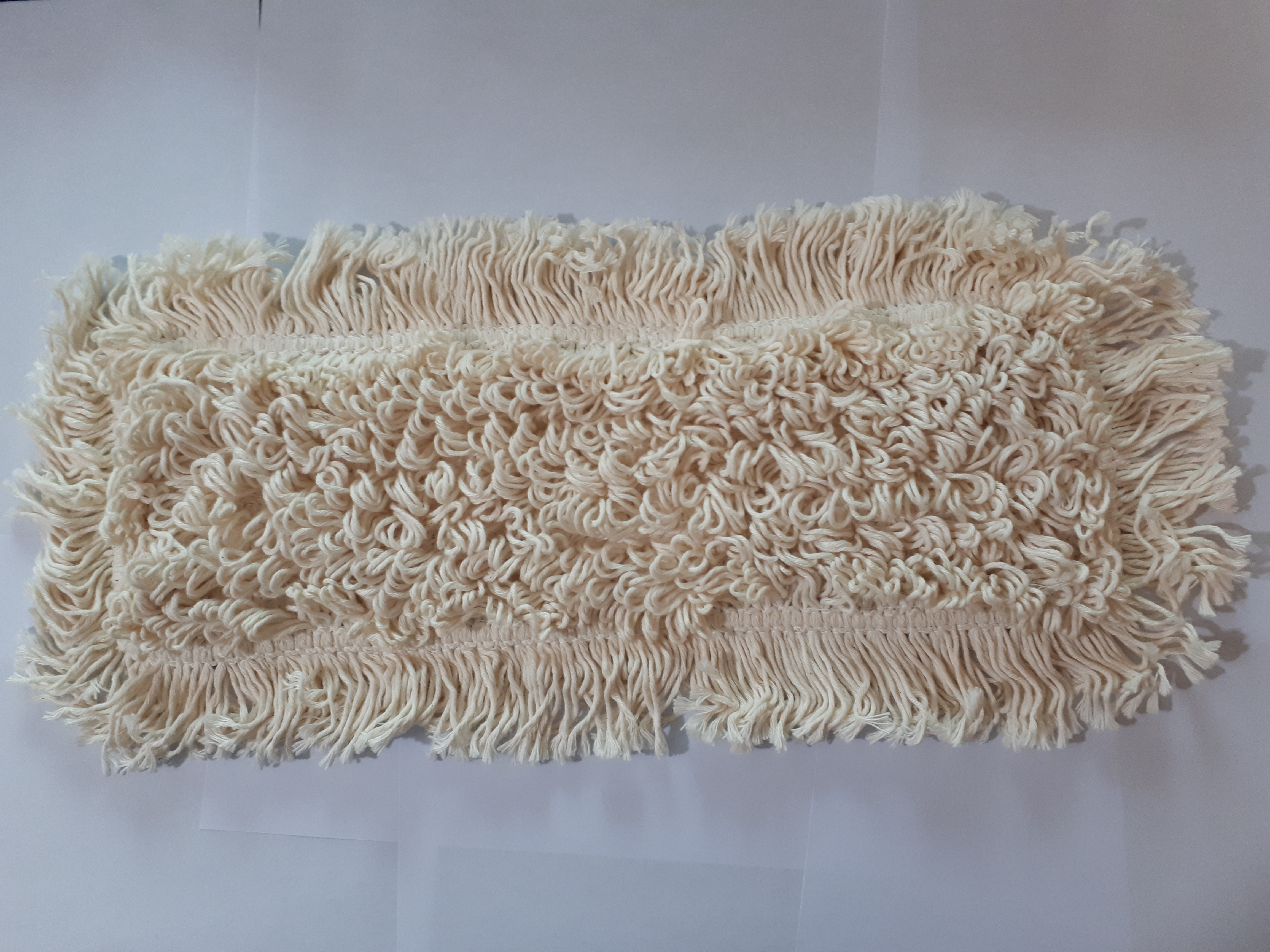 Flat Mop cotton 40cm, with Pocket and Flap