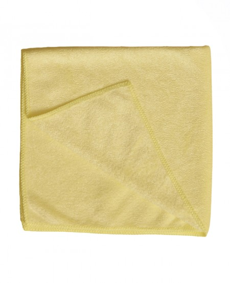 Yellow cotton duster 40x50,